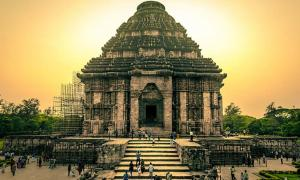 The Konark Sun Temple, India