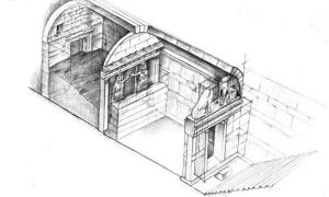 The third chamber of Amphipolis Tomb