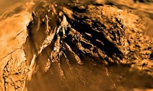 Surface of Titan - Saturn