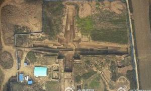 Enormous tomb of First Emperor's grandmother - China