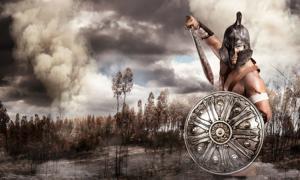 Ancient warrior (Luis Louro / Adobe Stock)
