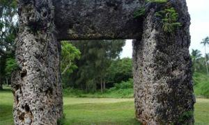The megalithic gate of Ha'amonga 'a Maui, Tonga