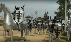 Siberian Trash Dump Becomes A Medieval Fortress