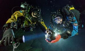 Tulum Underwater Cave - Mexico