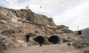 Newly-discovered tunnels and dungeons in Tokat Castle