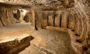 Vast ancient underground city beneath Cappadocia