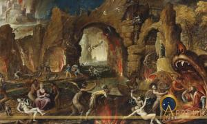 The Harrowing of Hell by Jacob van Swanenburgh  (1571–1638) (Public Domain)