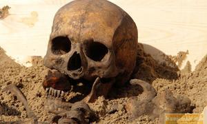 Vampires Burial site in Poland