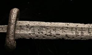 Viking Sword Made With Technology From the Future