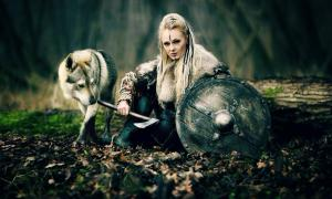 Representational image of a Viking warrior woman (DPVUE Images / Adobe Stock)