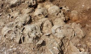 Viking slaves buried with their masters
