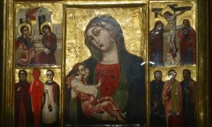 """Image of """"Our Lady, Mother of Grace,"""" Trsat, Croatia (prob. 12th cent.)"""