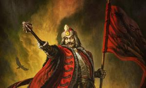 Vlad the Impaler as Dracula