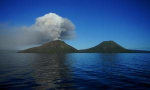 It's possible Mount Tavurvur, a part of the Rabaul caldera volcano in Papua, New Guinea, played a role in the climate change beginning 536 AD. Others have theorized that dust thrown in the air by crashing meteorites played a role in the climate change.