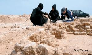 Seventh century Islamic dwelling in Qatar - Al Wakrah