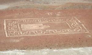 Wari geoglyph - Peru