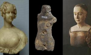 Ancient wax figures