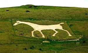 Extinction Rebellion 'Deface' Protected English Landscape