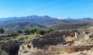 Mycenae, site of the wildfire on August 30, 2020.      Source: Susan Vineyard / Adobe Stock