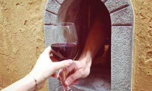 Florence's historic 'wine windows' have reopened in response to COVID-19                 Source: Buchette Del Vino