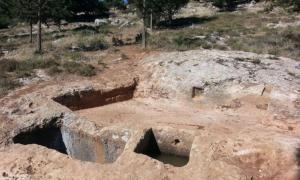1,400-year-old winepress in Israel