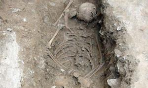 Witch burial in Italy