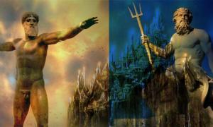 Zeus and Poseidon
