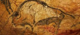 Bison from Magdalenian occupation of Altamira Cave. In black charcoal, c. 16500 – 14000 years ago.