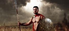 Ancient Greek murder victim was a muscular warrior.