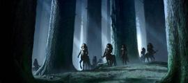 Centaurs in the Forbidden Forest.