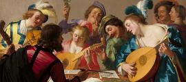 Gerard van Honthorst's 1623 painting 'The Concert.'