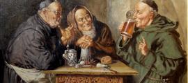 Piwo pijacy mnisi (Beer Drinking Monks), Olaf Simony Jensen