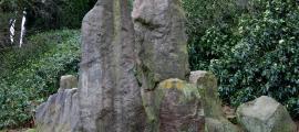 The Bridestones, several large stones            Source: Peel, M / CC BY-SA 4.0