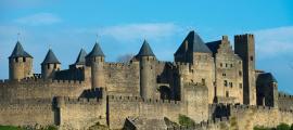 Medieval Carcassonne town view, France. Source: Nejron Photo / Adobe