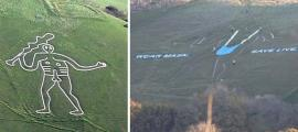 Defacing of Cerne Abbas Giant