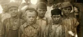 Child labor at Avondale Mills in Birmingham, Alabama, 1910