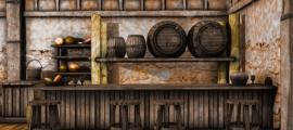 Illustration of an old tavern. Credit: Chorazin / Adobe Stock