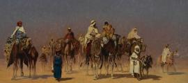 The Desert Caravan by Edmund Berninger