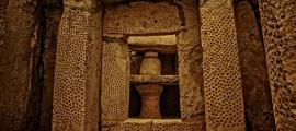 A megalithic temple in Malta - evidence for early human presence in Malta.