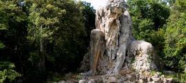 The Apennine Colossus by Giambologna.