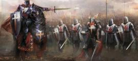 Depiction of the German Knights Templar.    Source: vukkostic / Adobe stock