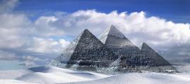 Great Pyramids, located in Giza