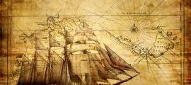 Professor Charles Hapgood believed strange, unexplained maps were signs of a long-forgotten civilization of ancient sea kings. Source: Freesurf / Adobe Stock