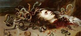 Head of Medusa by Peter Paul Rubens