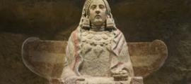 Lady of Baza, famous Iberian sculpture from a style that was developed by the Iberians of the Bronze age. Source: Juan Aunión / Adobe Stock.