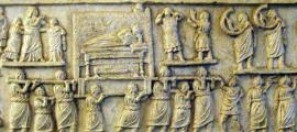 Amiternum funerary procession relief.