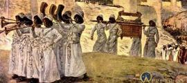 The seven trumpets of Jericho, by James Tissot.