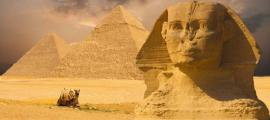 The Sphinx and Great Pyramids of Egypt. (BigStockPhoto)