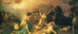Legendary Battle of Monte Medulio.