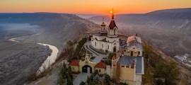 Sunrise, Old Orhei monastery, Republic of Moldova   Source: Calin Stan/Adobe Stock